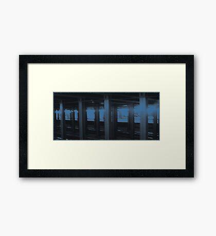New York City Subway Tunnel #1 Framed Print