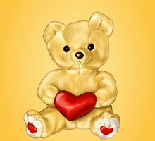 Cute Teddy Bear Hypnotist by Boriana Giormova