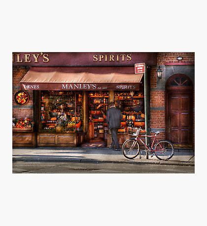 Store - Wine - NY - Chelsea - Wines and Spirits Est 1934  Photographic Print