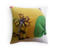 MAMMA PENGUIN 20 HAPPY TAPPIN' TO THE LEFT Throw Pillow
