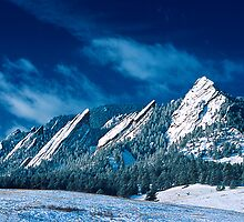 Majestic - The Flatirons of Boulder, Colorado by Gregory J Summers