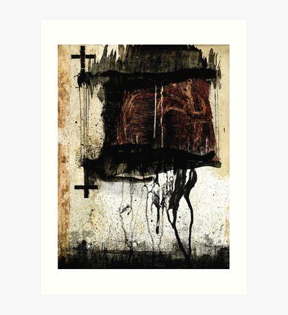 EL YO VIVO Y EL YO MUERTO Art Print