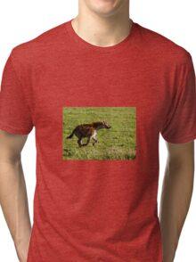 Spotted Hyena Tri-blend T-Shirt