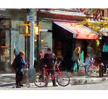 Bike Lane Photographic Print