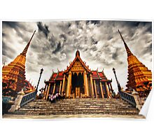Temple of the Emerald Buddha Poster
