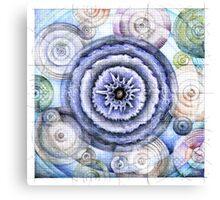 wheel 5: Co-Creative Patterning Canvas Print