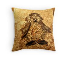SNOW PENGUIN 7 - Happy Being Throw Pillow