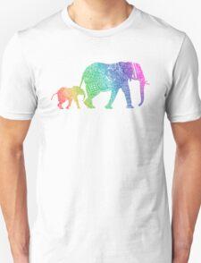 Zentangle Elephants Unisex T-Shirt