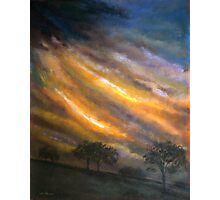 Turbulent Sky Photographic Print