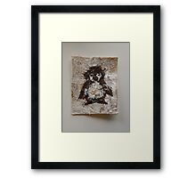 SNOW PENGUIN 1 - Happy Tootsie  Framed Print