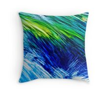 Leaping Liquids Throw Pillow
