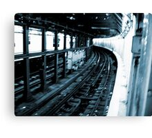 New York City Subway Tunnel #2 Canvas Print