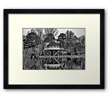 Room by the Lake Framed Print