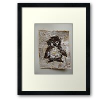 SNOW PENGUIN 2 - Happy Toes Framed Print