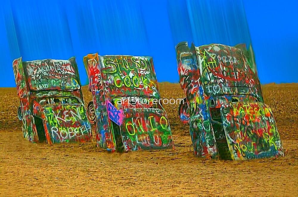 Cadillac Ranch - Amarillo by artstoreroom