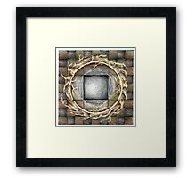 wheel 1: Unified Source Framed Print