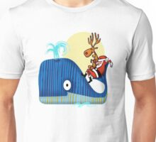 Santa Claus comes from the Sea Unisex T-Shirt