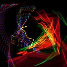 Light Dancing #23 by TIMOTHY  POLICH