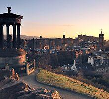 Edinburgh Glow  by TonyClerkson