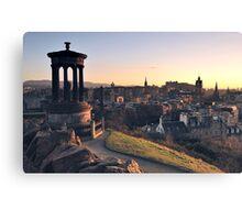 Edinburgh Glow  Canvas Print