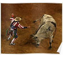 Rodeo Clown Poster