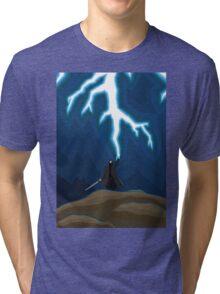 Lightening Man Tri-blend T-Shirt