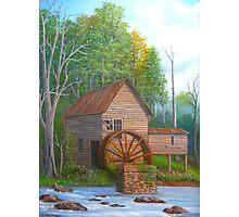 Loudermilk Gristmill in Habersham County Georgia Photographic Print
