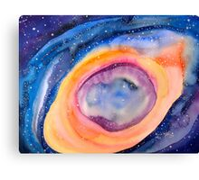 """The Helix """"Eye of God"""" Nebula 700 light years from earth 11/11/11 Canvas Print"""