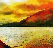 Loch Ness, Scotland by buttonpresser