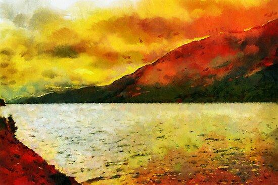 Loch Ness, Scotland by buttonpresser