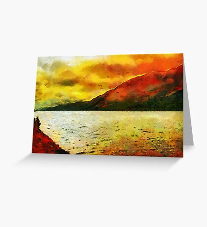 Loch Ness, Scotland Greeting Card