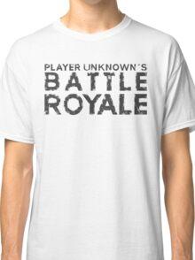 H1Z1 - Battle Royale Black Classic T-Shirt