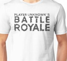 H1Z1 - Battle Royale Black Unisex T-Shirt