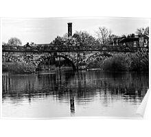 The English Bridge, Shrewsbury Poster