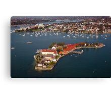 Spectacle Island, Sydney Canvas Print