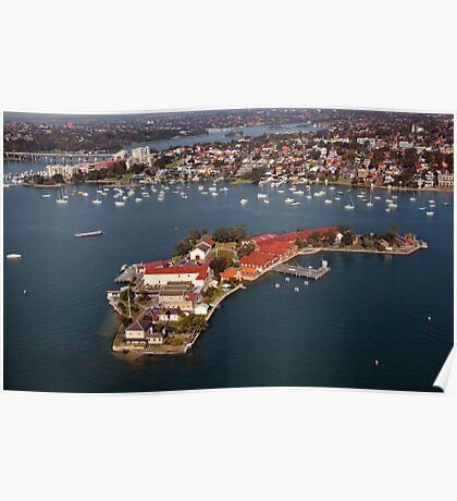 Spectacle Island, Sydney Poster