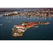 Spectacle Island, Sydney Photographic Print