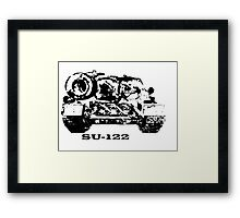 Legendary Soviet tank destroyer Framed Print
