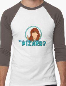 Isn't that Wizard? - Donna Men's Baseball ¾ T-Shirt