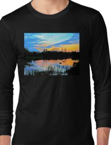 Sunset silhouettes Long Sleeve T-Shirt