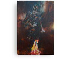 She Imperturbe Canvas Print