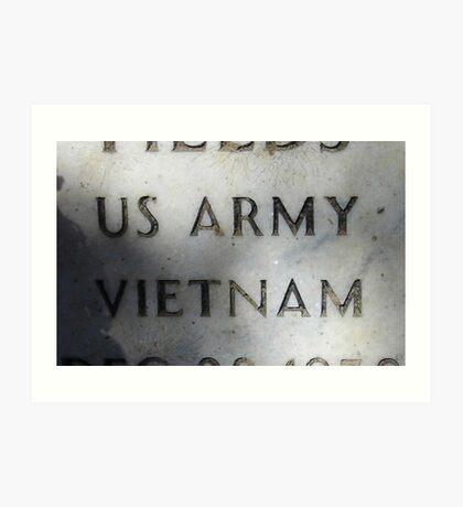 'Nam Memorial Art Print