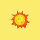 Happy Smiling Sun IPhone Case by Boriana Giormova