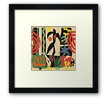 Inspired by Matisse (Vintage) Framed Print