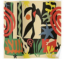Inspired by Matisse (Vintage) Poster