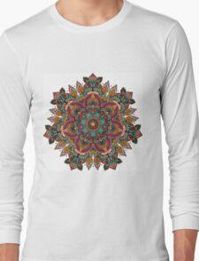 Trippy Mandala Long Sleeve T-Shirt