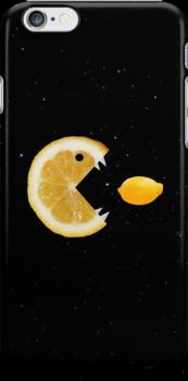 Lemon eats lemon by Boriana Giormova