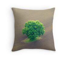 Lone Tree. Throw Pillow