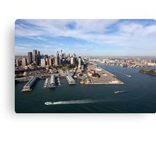 Walsh Bay, Sydney Canvas Print