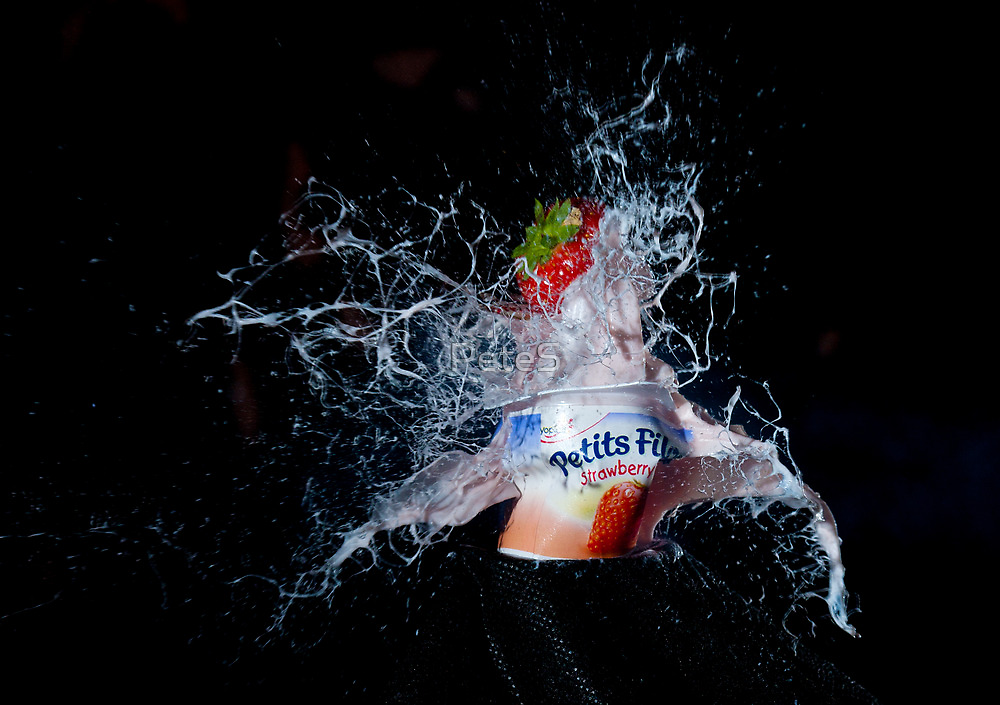Strawberry Yoghurt by Peter Stone